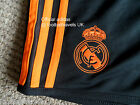 ADIDAS REAL MADRID CHAMPIONS LEAGUE SHORTS FORMOTION Football Soccer Calcio NEW