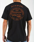 New This is my GUN PERMIT orange 2nd Amendment BACK Black men's mens tee shirt