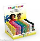 Snazaroo Face Painting Stick Crayon White,Black, Blue, Red or Green Make Up