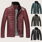 2014 SUPER HOT Mens Real Sheep Leather Wool Warm Fur Collar Outcoat Jacket Coat