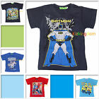 Spiderman Batman Despicable ME 2 George TMNT Turtles Top Tee T-shirt SZ 2-8