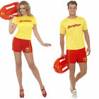 Baywatch Fancy Dress Costume - Official Mens Ladies 80s 90s TV Lifeguard Outfit