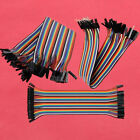 40pcs 2.54mm 20cm Dupont Wire Cable Male to Male Female to Female Male to Female