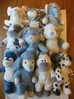 "BRAND NEW WITH TAGS 10"" MY BLUE NOSE FRIENDS FLOPPY PLUSH TOYS - VARIOUS."