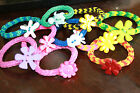 FREE ORGANZA GIFT BAG CUTE COLOURFUL CHILDREN KIDDIES LOOM BAND CHARM BRACELET
