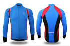 Men Long Sleeve Full Zip Cycling Jersey Elastic Quick-drying Perspiration 60026