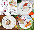 PERSONALISED Santa Mince Pie Christmas Xmas Eve Plate Gift Gifts Ideas for Kids