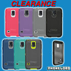Genuine OTTERBOX DEFENDER for Samsung Galaxy S5 belt clip tough new case cover