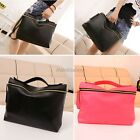 2014 Hot Fashion Women's Lady Zipper Hand Bag Cross Body Clutch Neon Color