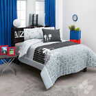 New Boys Gray Mickey Mouse Comforter Bedding Sheet Set