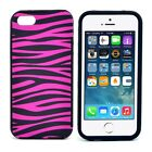 Zebra Print Phone Case High Quality Plastic Cover for iPhone 5 5s 5G Fashion New