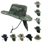 Bucket Cap Fishing Hiking Army Military Neck Cover Sun Flap Hunting Beach Hat