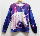 Sky Horse Fashion 3D Printed Sweater For Women Men Sweatshirts Tops Long  Sleeve