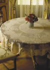 Heritage Lace Victorian Rose Tablecloth, Choice of 3 Sizes & 2 Colors, 1 or Set