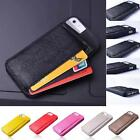 PU leather wallet BUSC hard cover card holder wallet soft case for iPhone5/5S
