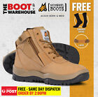 Mongrel Work Boots 961050, Soft Toe, Non Safety, Nubuck, Zip Sider. NEW STYLE!