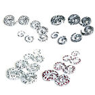 lot 7-size 2mm-10mm Spiral EAR STRETCHING KIT SET Tunnel Plugs Stretchers Tapers