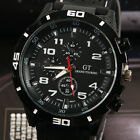 Cool Big Dial Silicone Strap F1 Men Sports Army Military Watches Wrist Watch