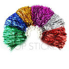 2 PCS Pom Poms Wave Finger Tapping Cheer Leader Hen Party Fancy Dress Party