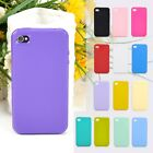 New TPU rubber Matte Slim Candy Gel Soft Cover Phone Case For iPhone 4 4S 4G