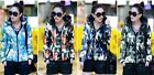 Winter New Women Cotton Down Jacket Slim Hooded Camouflage Padded short Parka