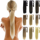 Clip In Pony Tail Hair Extensions Wrap Around Ponytail Hair Extension hair Piece
