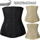 7 Spiral Steel Boned Underbust Tummy Waist training Cincher Belt Girdle Shaper