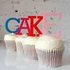 Letter Cake Topper - Alphabet Initial Name Number Cupcake Cake Topper