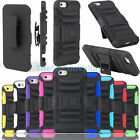 """Heavy Duty Rugged Hard Stand Case Cover + Clip Holster For iPhone 6 Plus 6+ 5.5"""""""