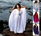 @Z468 CAFTAN DRESS GOWN BUTTERFLY STYLE S M L XL 1X 2X 3X 4X 5X 6X MADE TO ORDER