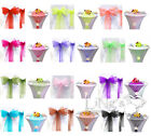 "8""x108"" Organza Chair Sash & 14""x108"" Table Runner Wedding Party Decoration"
