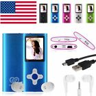 8GB 16GB Digital MP3 MP4 Player 1.8 LCD Screen FM Radio Video Games Movie