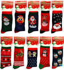 New Mens Womens Festive Christmas Socks Cotton & Polyester Blend Winter Fun BNWT