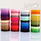 1000 yards Organza Ribbon 3mm 10mm 19mm 25mm 38mm Wedding Decoration Wholesale