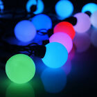 Color Changing 6M 40 LED RGB Ball Shape String Fairy Light Waterproof Xmas Party