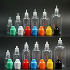 Dropper PET Bottles Multicolor Liquid Needle Tip Cap Childproof Filling Oil