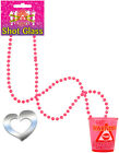 Hen Party Shot Glasses on Necklace Drinking Hen Night Party Accessory