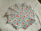 Genuine Cath Kidston handmade oilcloth bunting & Shabby Chic Floral/ Garland LED