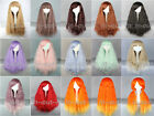 "28"" 70cm Long Fashion Charm Lolita Wavy Cosplay Costume Wig Party Wigs"