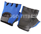 New Padded Mesh Net Leather Gym Training Gloves Fitness Cycling Super Sports