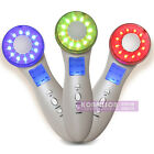 Portable Ultrasonic Photon Machine 7 Color LED Light Therapy Wrinkle Removal