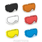 509 Tinted & Clear Dual Pane Anti Fog Replacement Lens Aviator Goggle Snowmobile