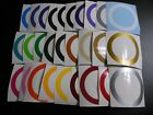 """Cornhole Border 1"""" Inch Wide Ring Decal Sticker Circle for Bean Bag Toss Board"""