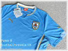 M or L PUMA URUGUAY SHIRT jersey 2014 2015 football soccer calcio BRAND NEW Tags