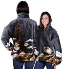 Eagle Fleece Jacket By Bear Ridge Warm High Quality Soft Fleece Jackets  - New!!