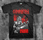 GOREROTTED 'Mutilated Chainsaw' T shirt (Carcass Exhumed The Rotted Death Metal)