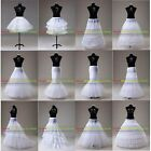 Wedding Dress Bridal Petticoat Crinoline Hoop/Hoopless/Mermaid/Fishtail/Slips