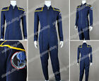 Star Trek Cosplay James T Kirk Enterprise Jumpsuit Jonathan Archer Costume Nice on eBay