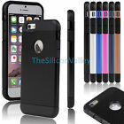 """For Apple 4.7"""" iPhone 6 Hybrid Rubber Gel Ultra Thin Protective Hard Case Cover"""