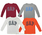 GAP BNWT Waffle Boys Top /T-Shirt Long Sleeve Stretch Fit Cotton Sizes 2-5 Years